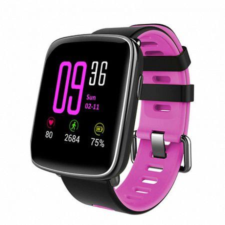NEOGO SmartBand GV68, okoskarkötő, rózsaszín