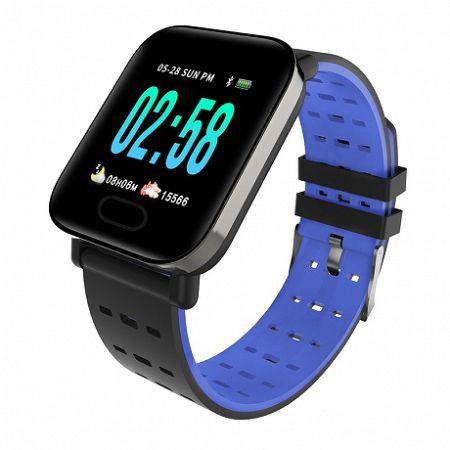 NEOGO SmartWatch A6, okosóra, kék
