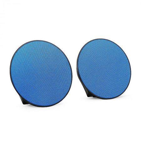 OneConcept Dynasphere hordozható Bluetooth hangszórók, AUX, kék