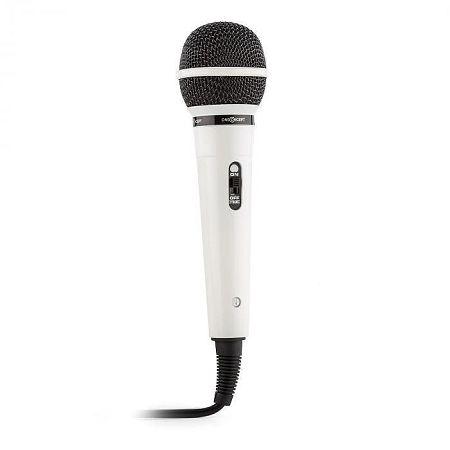 OneConcept Fehér Auna ének és hang mikrofon