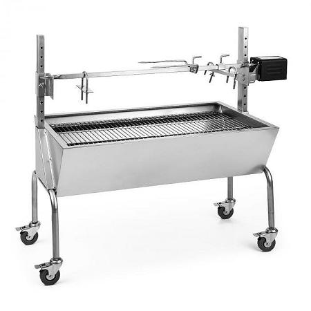 OneConcept Sauenland, elektromos malac sütő grill forgó nyárssal