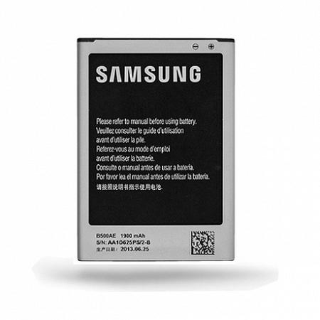Samsung EB-B500AE Li-Ion akkumulátor 1900 mAh, Galaxy S4 Mini 3pin, bulk