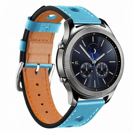 Samsung Gear S3 Leather Italy szíj, Blue