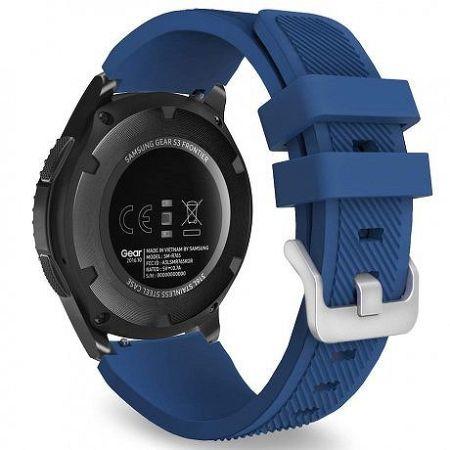 Samsung Gear S3 Silicone Sport szíj, Navy