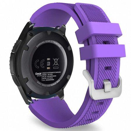 Samsung Gear S3 Silicone Sport szíj, Purple