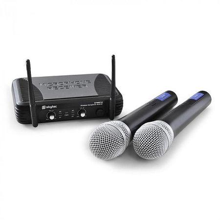 Skytec STWM722 vezeték nélküli mikrofon szett,UHF kézi mic