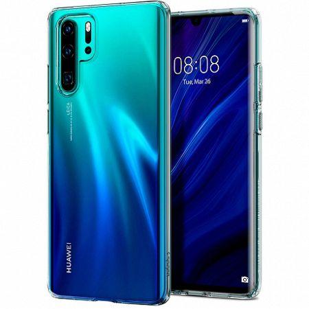 Spigen Liquid Crystal szilikon tok Huawei P30 Pro, átlátszó (L37CS25726)