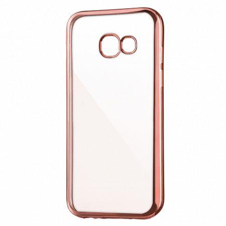Szilikon tok Metalic Slim Samsung Galaxy A5 2017 Rózsaszín