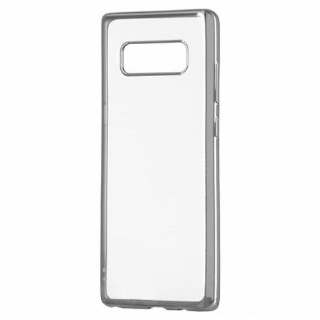 Szilikon tok Metalic Slim Sony Xperia XA2 Ezüst