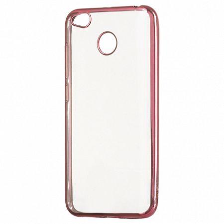 Szilikon tok Metalic Slim Xiaomi Redmi 4X Rózsaszín