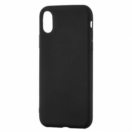 Szilikon tok Soft Matt Samsung Galaxy S8 Fekete