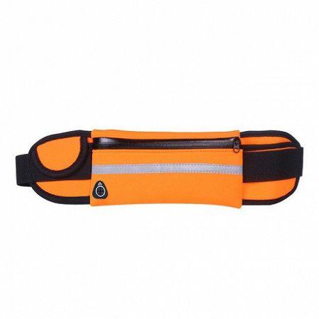 Ultimate Running Belt futó öv palacktartó és fülhallgató kimenet, narancssárga